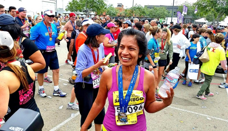 Running for the Girls: Q&A With Shamala Saripalli