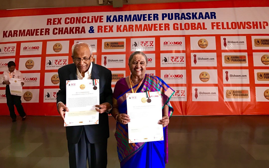 Founders Awarded Karmaveer Global Fellowship